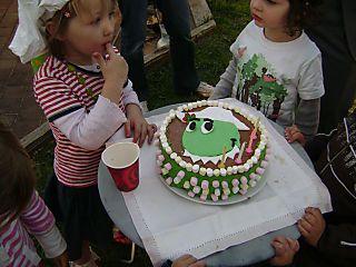 Dorothy face cake