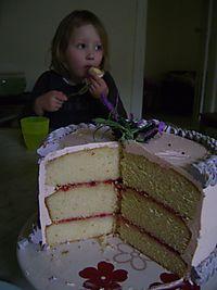 Rose cake 01