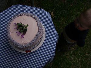 Rose cake 03